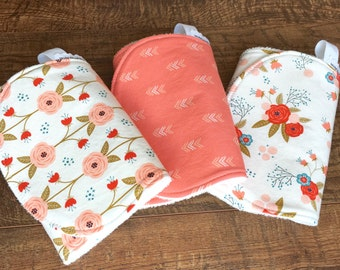 Baby Girl burp cloth baby Burp Cloth boho Burp Cloth cotton Burp Cloth Bamboo Burp Cloths Cotton Burp Cloth Modern burp cloths Organic baby