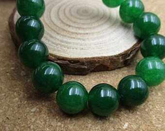 """15.5"""" 10mm/8mm/6mm Natural Stone Beads,Gemstones,Round Spacer Loose Beads(Green Color)-G1103"""