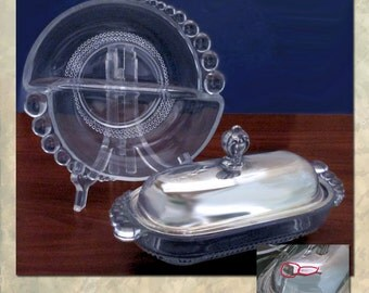 Duncan Miller Butter and Condiment Dishes