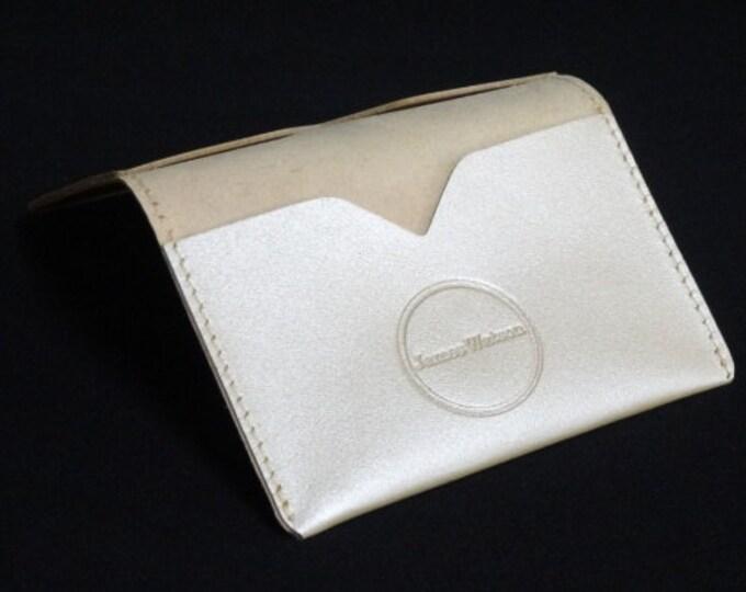 Bantam Wallet - Satin Tan - Kangaroo leather with RFID blocking - James Watson