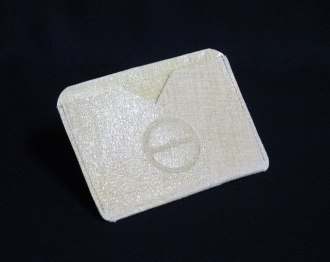 Pocket Wallet - Retro - Kangaroo leather with RFID credit card blocking - Handmade - James Watson