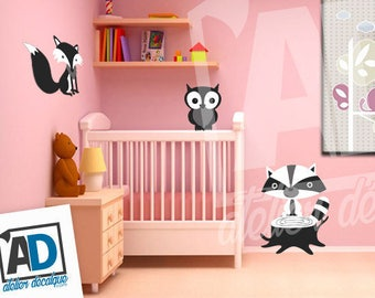 Wall sticker R-022 animals sold separately