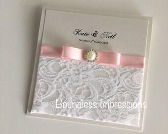Elegant Wedding Invitation (Kate Design) Sample