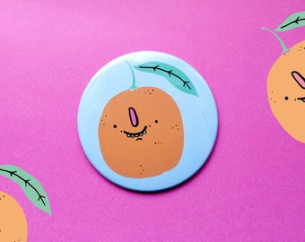 Orange : You are my Main Squeeze Pocket Mirror 76 cm
