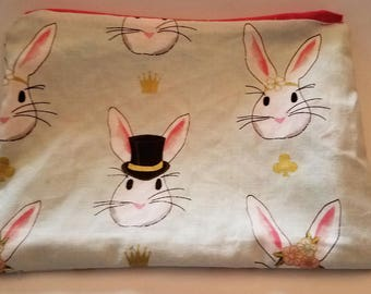 Happy Hooman Holiday Zipper pouch.