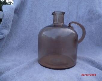 Large Antique Wine Bottle Artisian Made