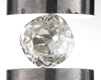 Diamond loose old mine cut .23 carat antique vintage |  antique cushion cut diamond | K |  Si1  |  | circa 1800's or before