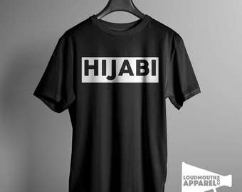 Hijabi Men's T-Shirt Political Tee