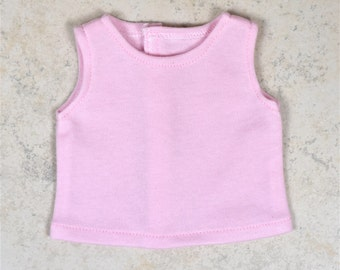 Basic Tank top 18 inch doll clothes Color Pink