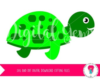 Turtle SVG / DXF Cutting File for Cricut Design Space / Silhouette Studio, Digital Download, Commercial Use Ok
