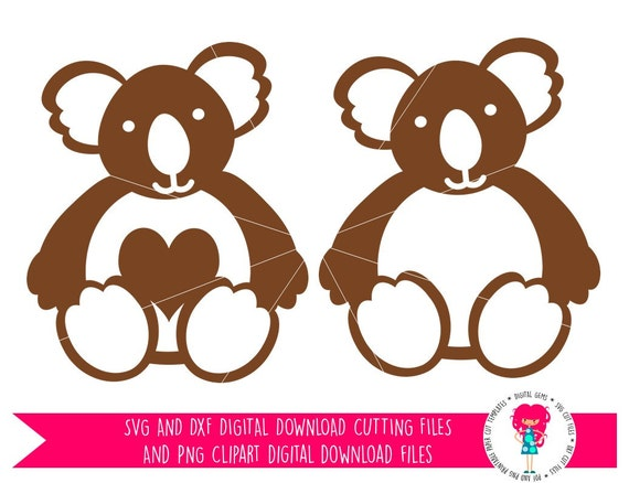 Download Koala SVG / DXF Cutting Files For Cricut Explore / Silhouette