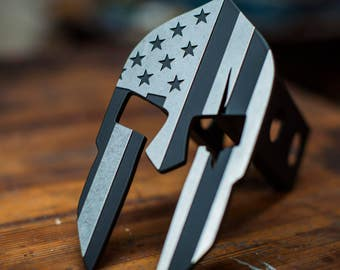 Stainless American Leonidas Trailer Hitch Cover