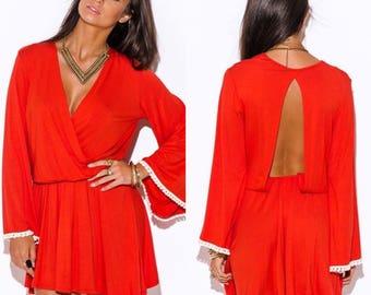 Res Open-back Dress