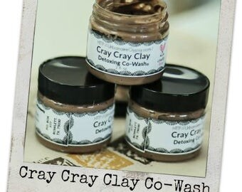 2 oz. Clay Shampoo...Conditions, Cleanses, Detangles and Detoxes (Cray Cray Clay Shampoo)