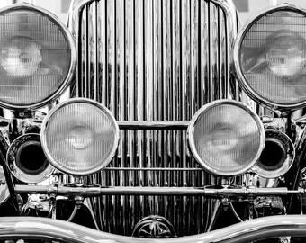 Vintage Car Photo, Classic Car Print, Car Lover, Man Cave Decor, Classic Automobile Photo, Duesenberg Car Photo, Antique Car Photo
