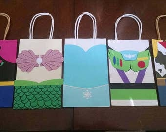Toy Story/Frozen/Ariel Inspired Goody Bags