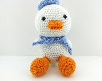 Cute Amigurumi Quack Plush | Cute Crochet duck Toy | Duck Plush |Animal Crochet|Crochet Animal | Cute Duck Gift | Crochet Amigurumi cute toy