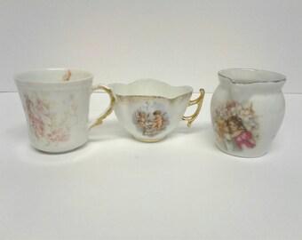Antique mini Porcelain Set