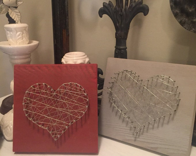 Mini Heart wire art