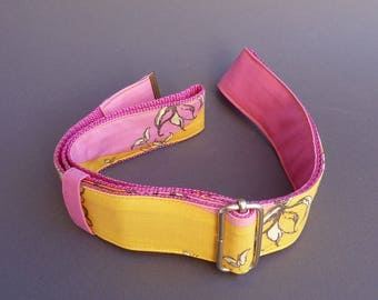 Fabric belts, belts made of fabric, belt to the move, fashion accessory / handmade