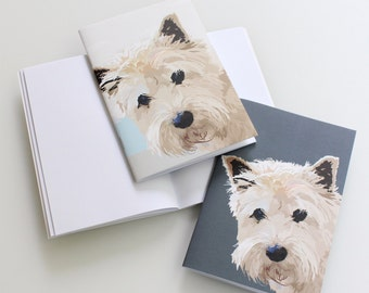 2 Mini Westie Notebooks