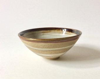 Marbled Ceramic Bowl - Agateware Bowl