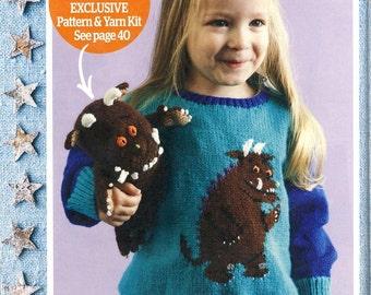 Knitting Pattern For Gruffalo Jumper : Gruffalo Etsy