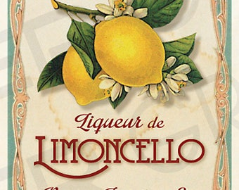 CUSTOMIZED Vintage Art Deco Style Limoncello Labels Digital DIY Wedding Gift Tags DIY Wedding Limoncello Labels Gift Tag Vintage Labels