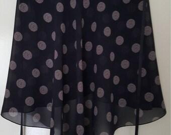 Ballet wrap skirt: Balloons
