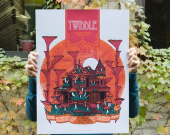 Twiddle - Brooklyn Bowl, NY - 18x24 Silkscreen Gigposter