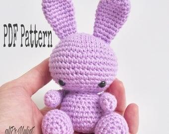 PDF Pattern altErMuligt's Baby Bunny approximately 11  cm DANSK OPSKRIFT på altermuligt.com