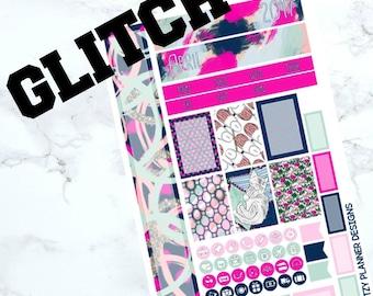 GLITCH - April Personal Planner Kit