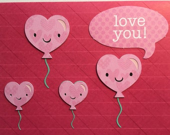 Valentine's Day card • Love you • Relationship card • Love cards • Cute cards • Cards for kids