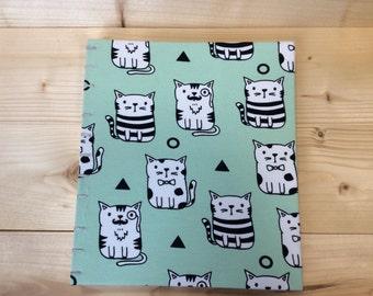 Large Cat Photo Album | Coptic Stitch | Sketchbook | Journal | Notebook