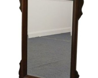 KINCAID Vintage Cherry Solid Wood 30×50 Chippendale Mirror 6-48-112
