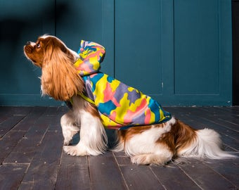 Jersey Hoodie - Dog Hoodie - Dog Clothes