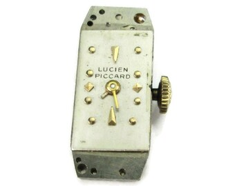 Lucien Piccard Watch Movement for Steampunk Jewelry or repair (#LP03)