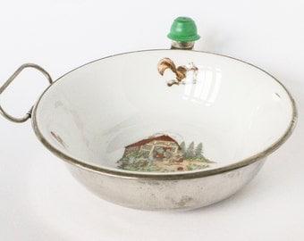 Baby food bowl - warm water heater - Hänsel & Gretel fairytale drawing