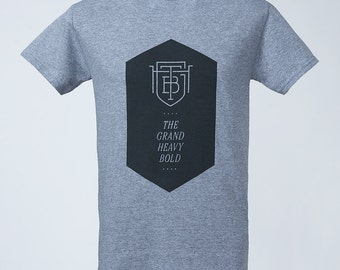 TGHB Hexagon T-Shirt grey