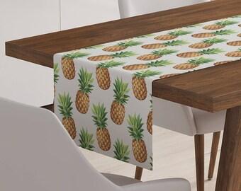 Pineapple Table Linen | Pineapple Linen | Pineapple Table Décor | Pineapple Runner | Pineapple Table Runner | Pineapple Décor