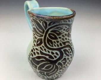Opal Lotus Mug