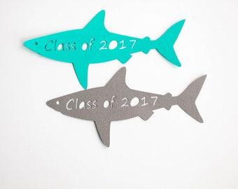 Shark Tags, Shark, Class of 2017, Graduation Tag, Graduation, Tag