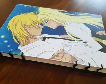 A5 Anime Couple Diary/Sketchbook
