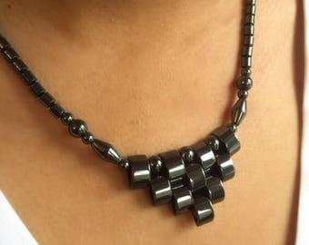 Hematite Necklace Pendant