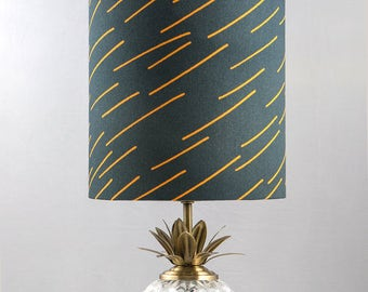 Brand Lampshade in Navy Small