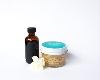 Vanilla Hazelnut Candle - 4 fl oz
