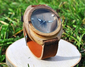 Incroyable montre | Montres en bois | Mens Watch | Wood| des hommes Cadeau | Montre Unisexe | Pour elle et lui | Gratuit gravure | Garantie 2 ans