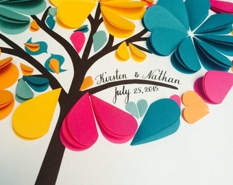 Something Blue for your Wedding - wedding Guest Book - Wedding Guestbook - guest book ideas