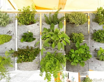Vertical Garden, Waterproof Wall Planter, Herb Planter, Indoor Wall Planter, vertical planter > All patterns can be found within our shop!