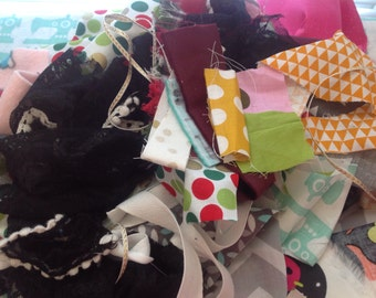 Fabric scraps, scraps for quilting, scrap bag,free shipping